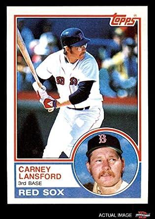 Amazoncom 1983 Topps 523 Carney Lansford Boston Red Sox