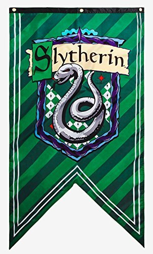 Best Price Harry Potter House Crest Wall Banner (Slytherin)
