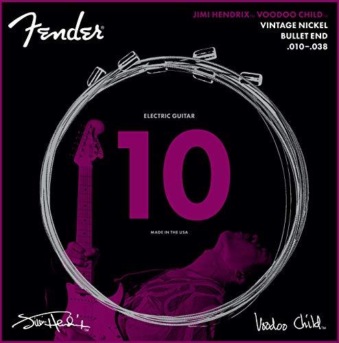 Fender Hendrix Voodoo Child Bullet End Nickel 10-38