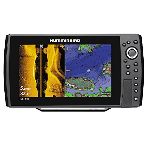 Humminbird 409990-1 Helix 10 SI 600x1024 Sonar with GPS, 10.4'' by Humminbird