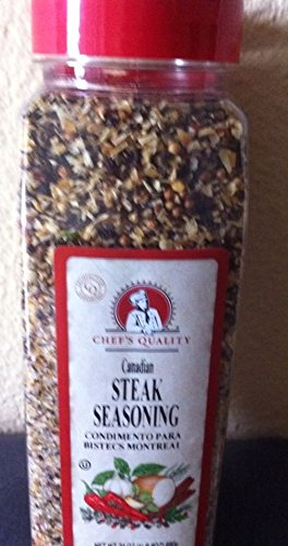 Chefs Quality Canadian Steak Seasoning, 24 Oz. (Canadian Steak)