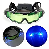 OFKP® Kids Toy High Quality Night Vision Goggles with Flip-out LED Light For Night Activities