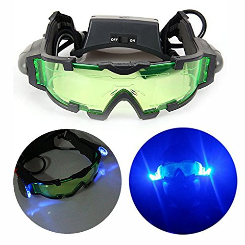 Gearmax High Quality Night Vision Goggles with Flip-out LED Light For Night...
