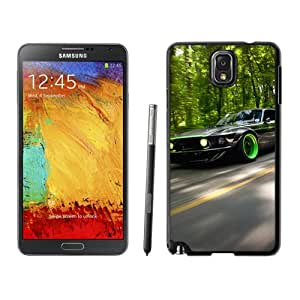 New Beautiful Custom Designed Cover Case For Samsung Galaxy Note 3 N900A N900V N900P N900T With Green Car Phone Case
