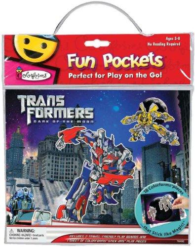 University Magnet Pack (Transformers Colorform Fun Pocket)