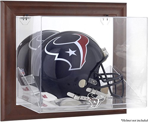 Mounted Memories Houston Texans Brown Helmet Display Case by Mounted Memories