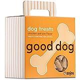 Sojos Good Dog Crunchy Natural Dog Treats, Chicken Pot Pie, 8-Ounce Box