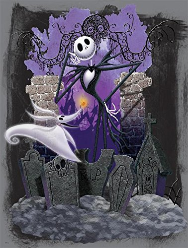 Ceaco Disney's Nightmare Before Christmas Puzzle -Jack & Zero Puzzle -
