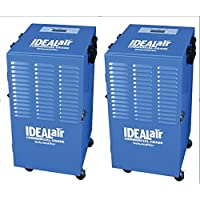 Ideal-Air Commercial Grade Dehumidifier Up To 100 Pint 2 Packs