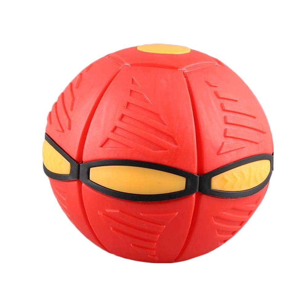 con Palla Magic Vent Ball fllyingu modellabile Piattino Volante a Forma di Sfera per sottotazza Gioco per Genitori e Bambini Rot