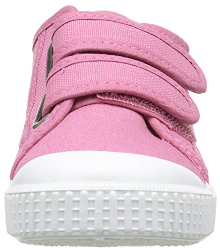 Victoria Basket Lona Dos Velcros - Zapatillas Unisex Niños Rose (09 Frambuesa)