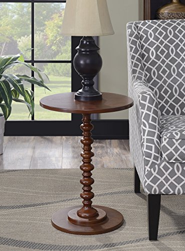 Convenience Concepts 131355MG Palm Beach Accent End Table, Mahogany