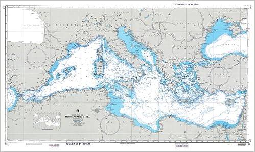 Seekarte Mittelmeer Amazon De Dma Washington Bucher