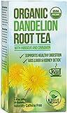 Dandelion Root Tea - Raw Organic Vitamin Rich Digestive - 1 Pack (20 Bags 2 Grams Each)