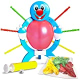 Gamie Popping Balloon Game for Kids - Includes Frame, 24 Balloons, 1 Pump, Dice, 9 Sticks, and Instruction Guide - Gift Idea, Fun Birthday Party Activity - Games for Parties, Sleepovers and More