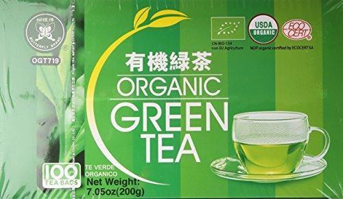 Butterfly Brand Organic Green Tea (Tea Green Butterfly)