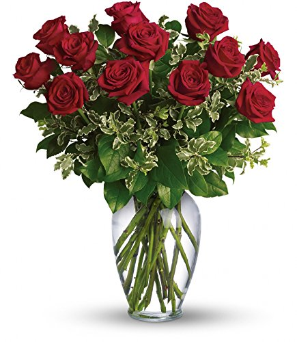 Chicago Flower Co. - Always on My Mind - Long Stemmed Red Roses - Fresh and Hand Delivered by Chicago Flower Company