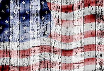 US Flag Backdrop 10x6.5ft Polyester Photography Background Peeling US Flag Wooden Door Backdrop Independence Day Theme Portrait Backdrop Kids Baby Adult Photo Backdrop Patriotic Backdrop Props