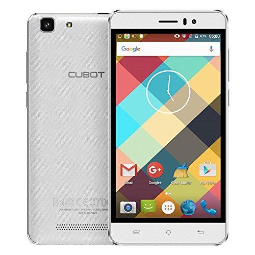 "Cubot Rainbow 3G WCDMA Smartphone Android 6.0 OS Quad Core 5.0 ""IPS-Schirm 1.3GHz 1GB RAM+16GB ROM 5MP+13MP Doppelkameras"