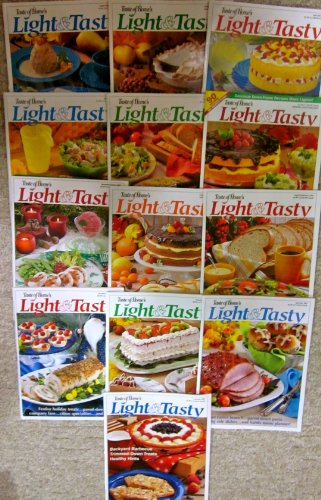 (Thirteen Issues of Taste of Home's Light & Tasty Magazine (Dec/Jan 2004; Feb/March 2003; April/May 2003; June/July 2003; Aug/Sep 2003; Oct/Nov 2003; Dec/Jan 2003; Premiere Collector's Issue; Feb/March 2002; April/May 2002; June/July 2002; Aug/Sep 2002; Oct/Nov 2002))