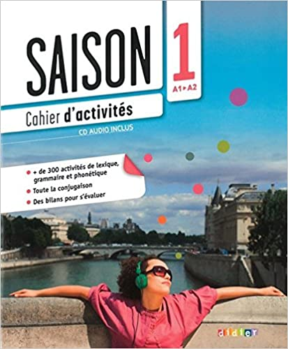 Cahier d'activite saison 1 cd audio inclus