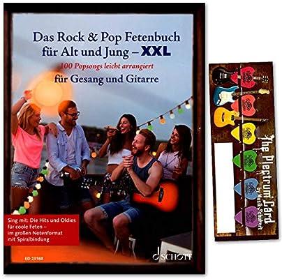 Libro de grasas Rock & Pop para jóvenes y mayores, tamaño XXL, 100 ...