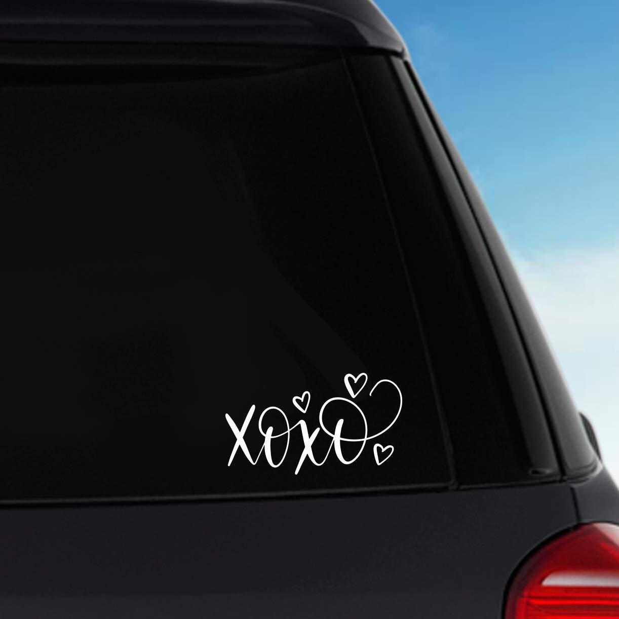 Laptop Decal XOXO Vinyl Sticker Decal Car Decal