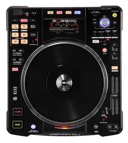 Denon SC3900 Digital Media Player and DJ Controller (with a SPECIAL OFFER til Sept 30, 2013 - FREE Vinyl Record Via Rebate)