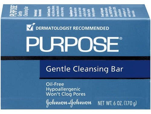 Purpose Gentle Cleansing Bar, Oil Free - 6 oz, Pack of 4 by With a Purpose