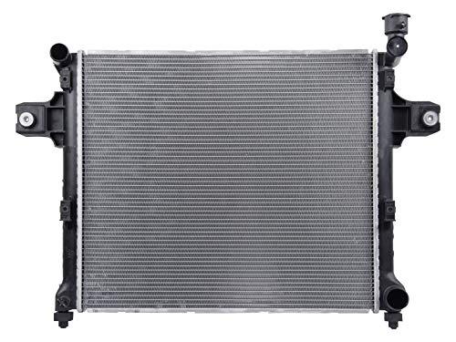 Jeep Grand Cherokee Radiator Support - Spectra Premium CU2840 Complete Radiator