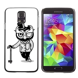 Designer Depo Hard Protection Case for Samsung Galaxy S5 / Mr. Owl
