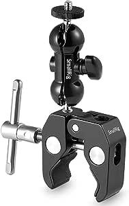 SmallRig Magic Arm Cool Ballhead Ball Head Camera Super Clamp Mount Bracket - 1138