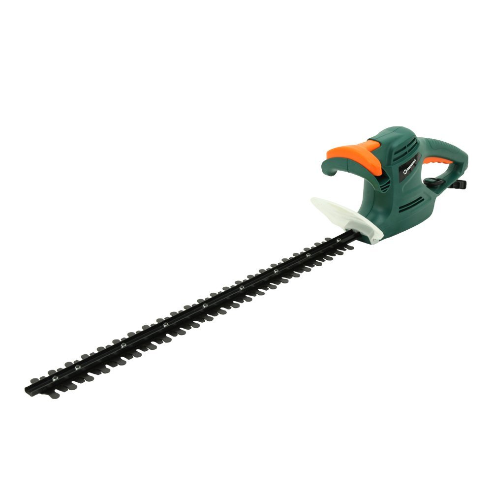 DOEWORKS 4.5AMP Corded Electric Hedge Trimmer with 24'' Dual-Action Steel Blade