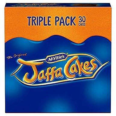 McVities Jaffa Cakes Triple Pack 36 450g: Amazon.es: Alimentación y bebidas