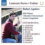 Guitar Laureate Series: Rafael Aguirre 2010 Winner