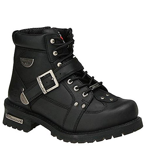 Motorcycle Buckle Boots - 7