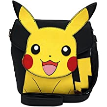 Loungefly Pokemon Pikachu Face Crossbody Messenger Bag