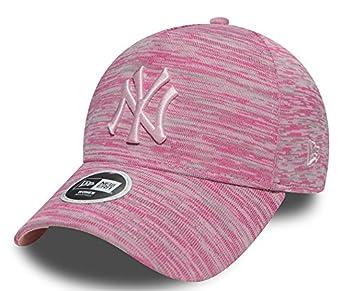 New Era Hats Womens 9FORTY New York Yankees Baseball Cap - Engineered Fit - Pink