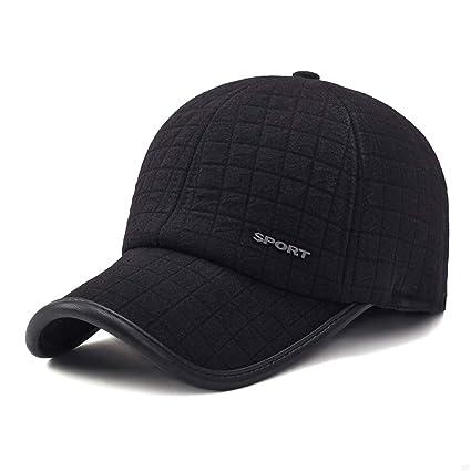 994543af1b2 SLBGADIEME Winter Baseball Cap Ear Sporting Goods Hats Hats for Men Cotton  Visor Caps Baseball Hat