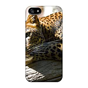 Excellent Design Lazing Leopard For HTC One M8 Phone Case Cover