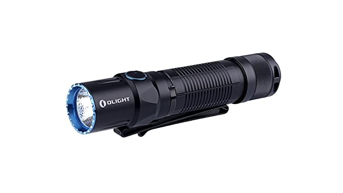 Amazon.com: EdisonBright Olight M2T Warrior 1200 Lumen CREE LED Flashlight EDC rechargeable battery UC charger bundle: Sports & Outdoors