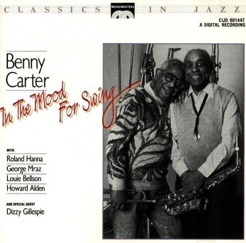In the Mood for Swing by Carter, Benny, Gillespie, Dizzy (1992) Audio CD