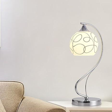 Yy Fire Desk Lamp,Vintage Desktop Table Lamp Desk Lamps Office Simple  Bedside Metal