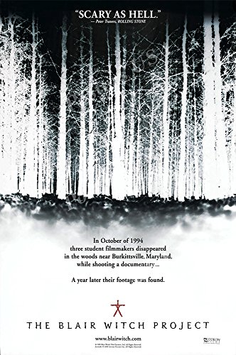 Blair Witch Project Poster Movie - Posters USA The Blair Witch Project GLOSSY FINISH Movie Poster- FIL822 (16
