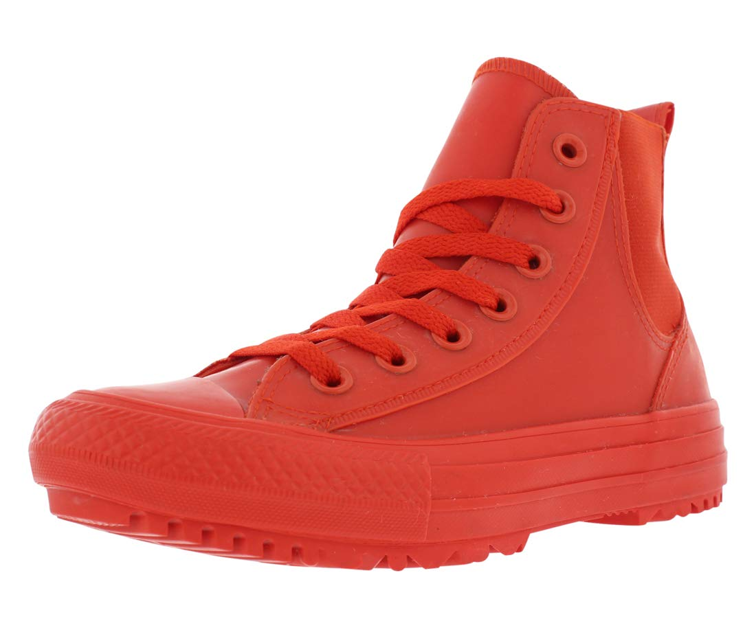 519e3083c7f9b0 Galleon - Converse Chuck Taylor All Star Chelsea Boot Rubber Hi Signal  Red Signal Red (Womens) (7 B(M) US)