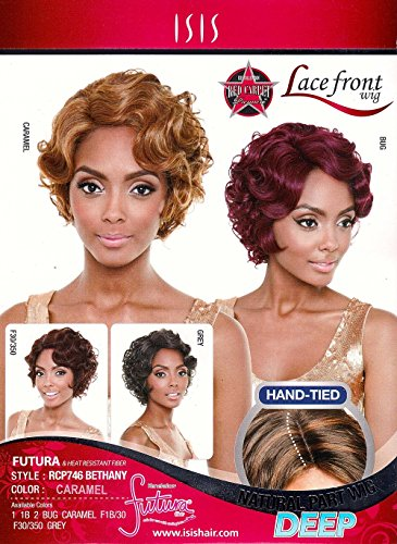 ISIS Red Carpet Lace Front Wig RCP746 Bethany (Color #1B)