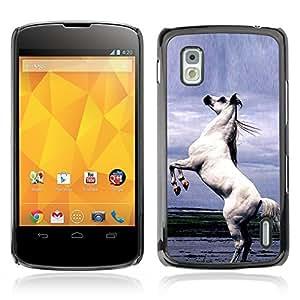 Graphic4You Arabian Stallion Horse Animal Design Hard Case Cover for LG Nexus 4