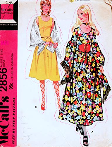 McCall's 2856 Pattern for Storybook Character Costumes Girls 7-8-10 -
