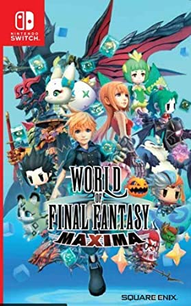 World of Final Fantasy Maxima Nintendo Switch Game (#) [Importación inglesa]: Amazon.es: Videojuegos
