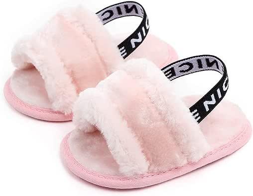 Meckior Infant Baby Girls Sandals Faux